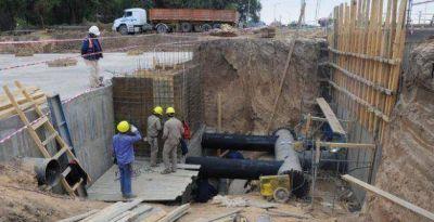 Grandes obras de infraestructura permitirán brindar un mejor servicio de agua potable en Lomas de Tafí