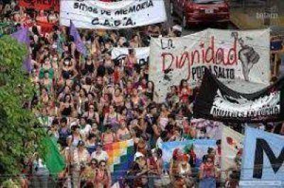 Violencia y golpes en el Encuentro de Mujeres en Salta