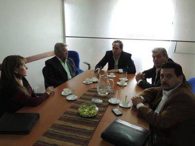 Mera recibió a representantes del partido Vos