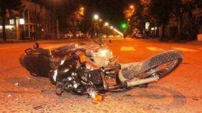Se encuentra en coma el motociclista accidentado