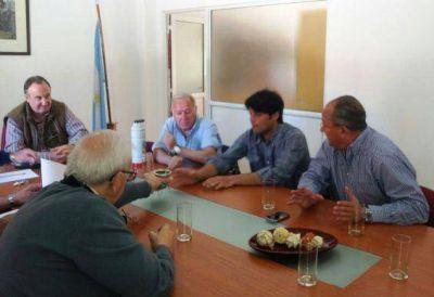 Marino se reunió con representantes de la Cámara de Comercio de Santa Rosa
