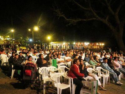 Noche de grandes espectáculos en la ExpoJuy