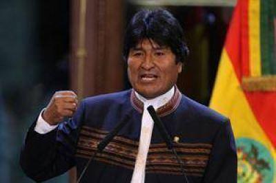 Abrumador triunfo de Evo Morales, que fue electo presidente de Bolivia por tercera vez