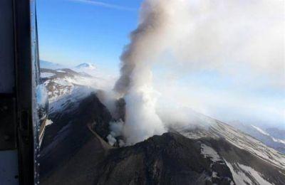 Alerta naranja para el volcán Copahue