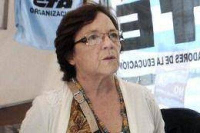 Muri� Stella Maldonado, hist�rica dirigente de Ctera