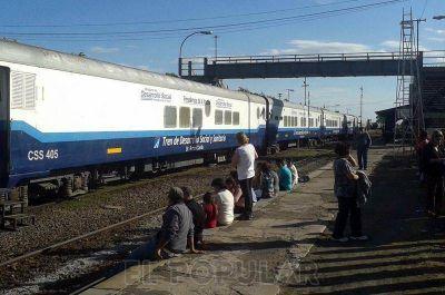 Llegó a Olavarría el Tren de Desarrollo Social y Sanitario