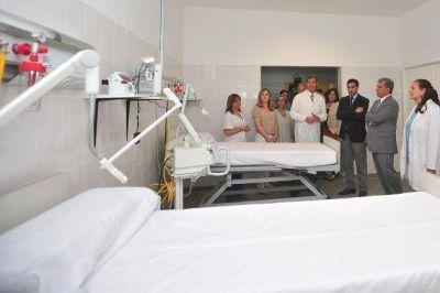 La Maternidad provincial amplió la unidad de terapia e incorporó un mamógrafo digital