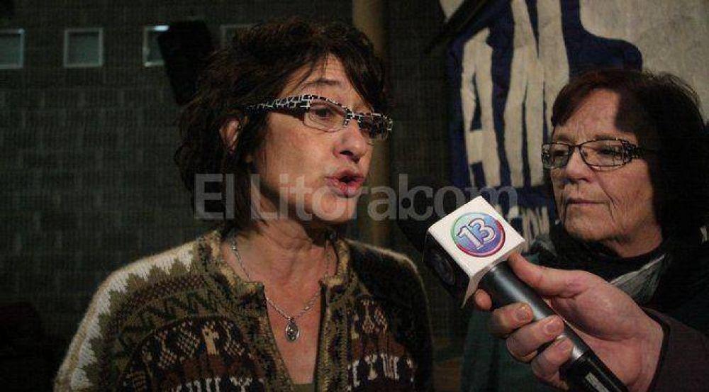 La santafesina Alesso sucederá a Maldonado en Ctera