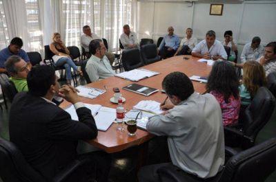 Legisladores recibieron a trabajadores del área de Contaduría y Tesorería general de la provincia