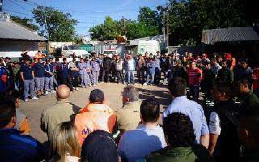 Vicente López: Paro y asamblea de municipales por trabajador fallecido