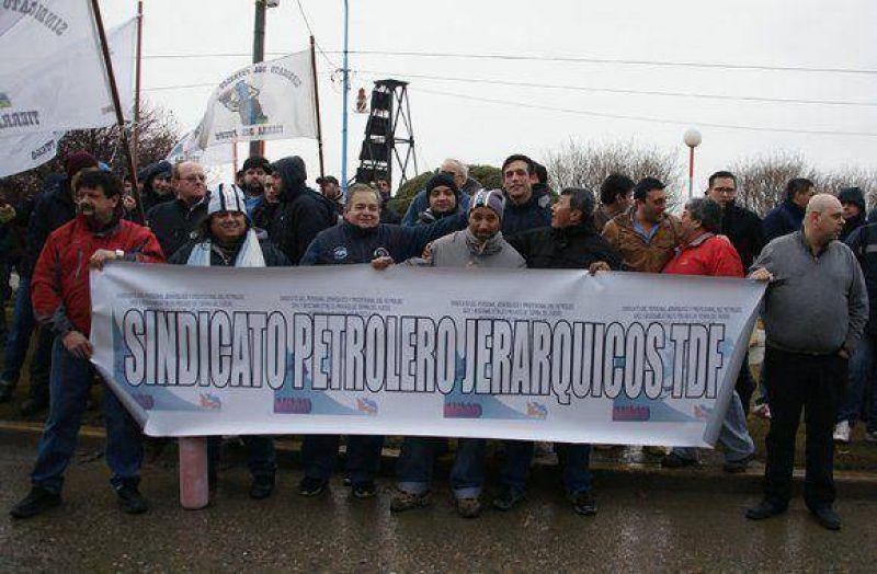 El Sindicato de Petroleros Jerárquicos volvió a protestar en Roch