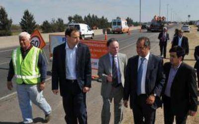 Scioli inaugura obras de la Autopista La Plata - Buenos Aires