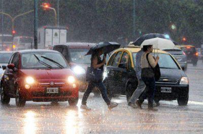 Alerta por fuertes tormentas y caída de granizo en la ciudad y sus alrededores