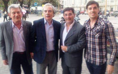 Pampeanos con el massista Juan José Álvarez