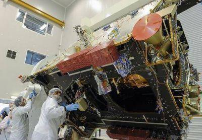 El 50 por ciento del satélite está hecho con piezas de fabricación nacional