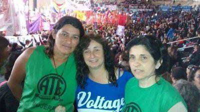 Encuentro Nacional de Mujeres: Mercedes estuvo presente