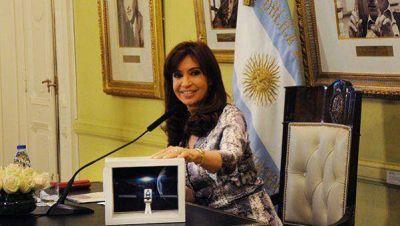 """Cristina: """"Los satélites no se pueden derogar"""""""