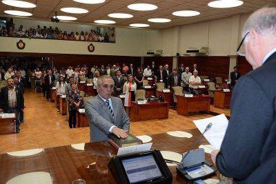 Tarde de homenajes en la sesión de Diputados