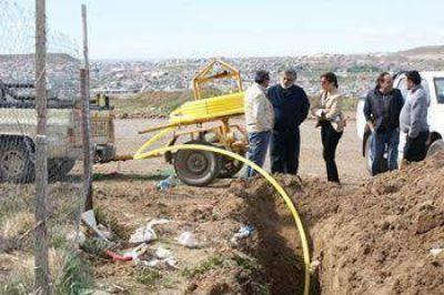 Conectan red domiciliaria de gas en 40 Viviendas