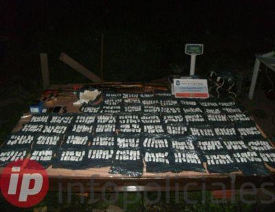 Operativos en La Plata, Quilmes y Florencio Varela dieron con 3102 dosis de paco