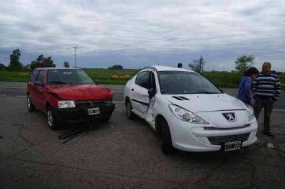 ACCIDENTES: CUATRO PERSONAS LESIONADAS