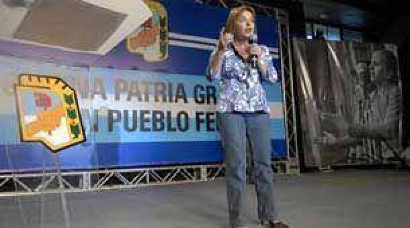 """Para Hilda """"Chiche"""" Duhalde hay que aggiornar el justicialismo"""