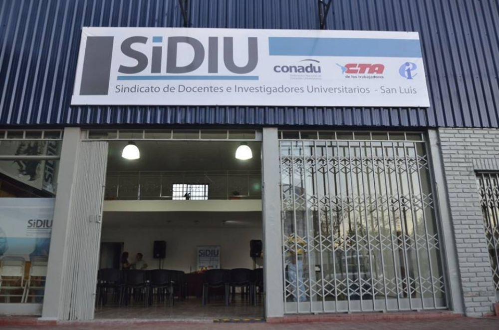 El Sindicato de Docentes e Investigadores Universitarios inauguró su sede gremial