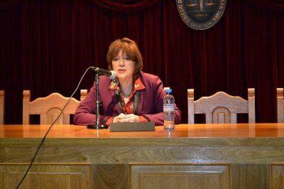 Pol�mica por el funcionamiento del IURIX: el Colegio de Abogados repudi� las declaraciones de Lilia Novillo