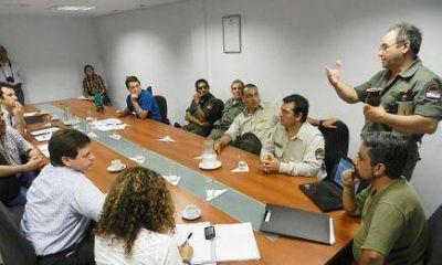 Guardaparques expusieron su oposición a construir un camino dentro del Parque Moconá