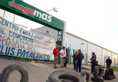 Levantaron el bloqueo al Changomás