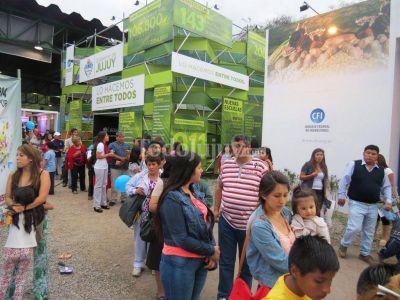 Gran cierre de la ExpoJuy 2014
