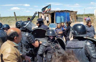 Mari Menuco : Graves incidentes entre adjudicatarios y mapuches