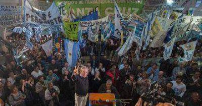 """Peralta convocó a """"un amplio frente social y político"""""""