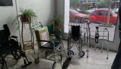 Lanzaron el Banco de Préstamos ortopédicos