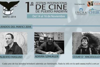 Se desarrollará el Primer Festival Internacional de Cine en Puerto Madryn