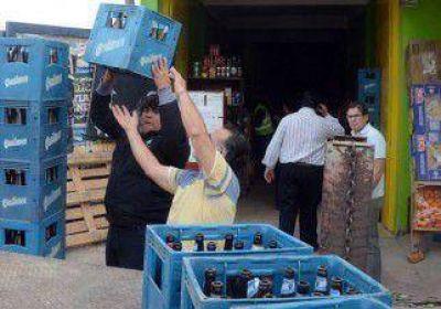 Secuestran 80 mil litros de alcohol para venta clandestina