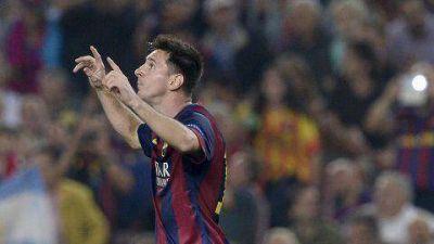 Lionel Messi hizo un gol y qued� m�s cerca del r�cord de Ra�l