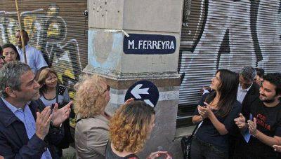 Avellaneda: en el cuarto aniversario del asesinato de Mariano Ferreyra, la calle Bosch fue rebautizada con el nombre del militante