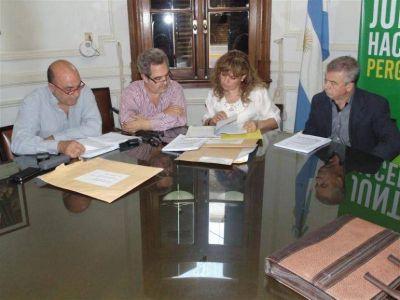 Licitaron nuevas obras para prolongar los trabajos en la futura Biblioteca Menéndez