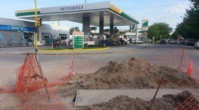 Brandsen y Corrientes: investigan una p�rdida de combustible