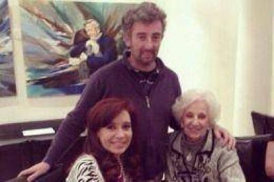 Tras recibir a Carlotto y su nieto, Cristina viaja a Chaco