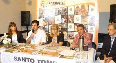 Presentaron las Bodas de Oro del Festival del Folclore Correntino
