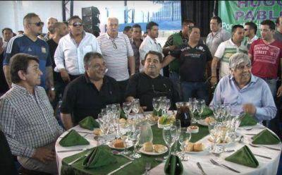 Curto y Moyano almorzaron en Caseros