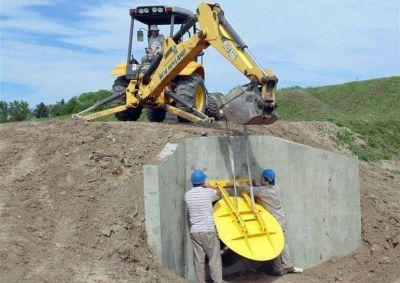 Barrio Kennedy: finalizaron obras de construcci�n del nuevo alcantarillado de acometida en el Arroyo