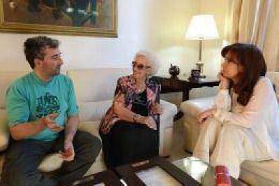 Cristina le entregó a Ignacio Carlotto Montoya documentos sobre su padre