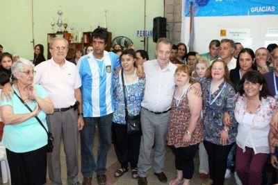 Con una sentida ceremonia fueron celebradas las cuatro décadas del Taller Protegido Pergamino