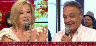 El divertido pase de factura de Soledad Silveyra al papá de Pedro Alfonso