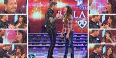 Laura Fidalgo, sacada contra Mora Godoy; Tinelli con cara de