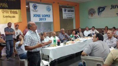 José Francisco López recibió el respaldo de más de 40 gremios para su candidatura a Gobernador
