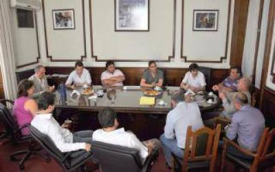 Concejales del FpV de la Tercera y Octava se reunieron en La Plata